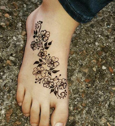 Foot Henna Art , 50 Beautiful Mehndi Designs for Feet