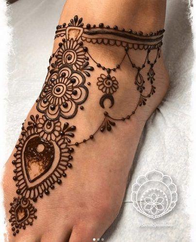 Beautiful Mehndi Designs for Feet (14)