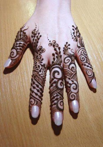 Best Mehndi Designs for Fingers (24)