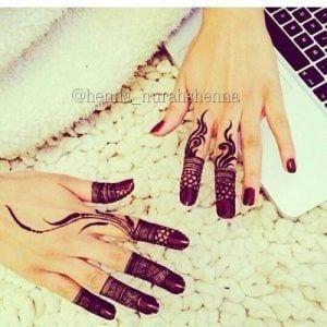 Best Mehndi Designs for Fingers (23)