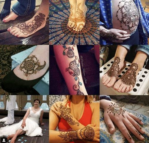 Types of Henna Art (25)