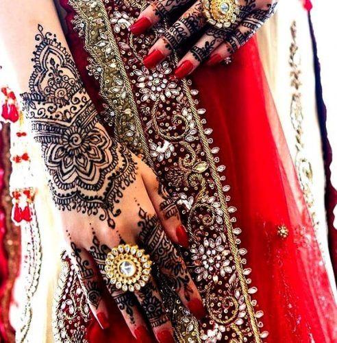 Types of Henna Art (30)