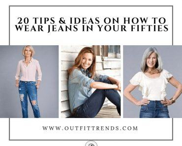 jeans outfits for women over 50