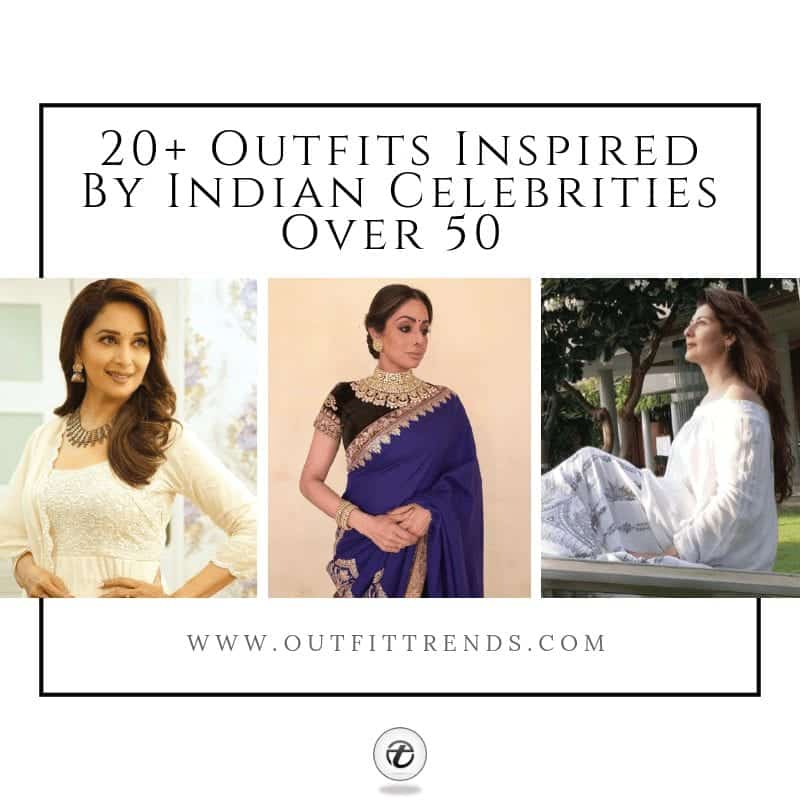 indian celebrities over 50 fashion for women