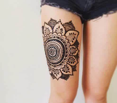 Best Leg Mehndi Designs (3)