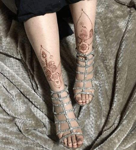 Best Leg Mehndi Designs Our Top 30 Henna Designs For Legs