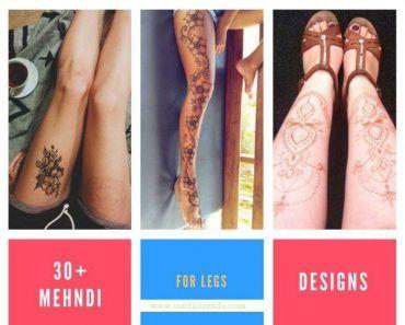 Best Leg Mehndi Designs (1)