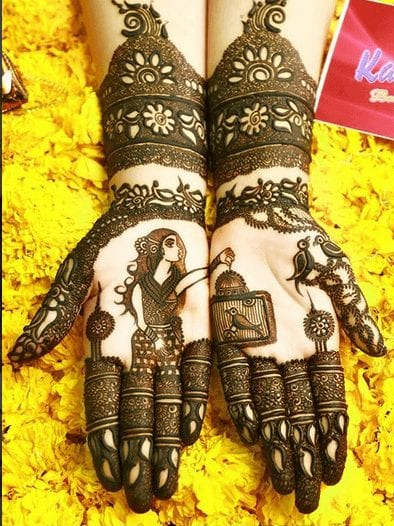 Mughlai Mehndi Designs (31)
