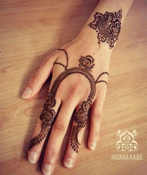 Mughlai Mehndi Designs (29)