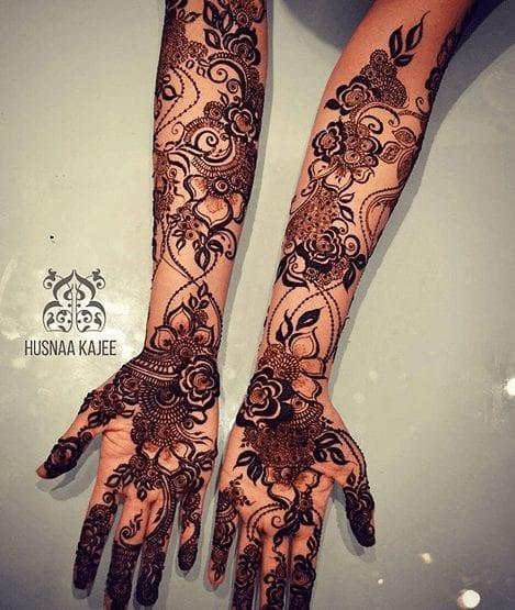 Mughlai Mehndi Designs (24)