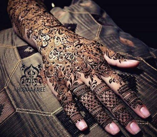 Mughlai Mehndi Designs (21)