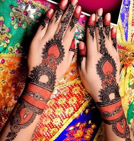 Mughlai Mehndi Designs (17)