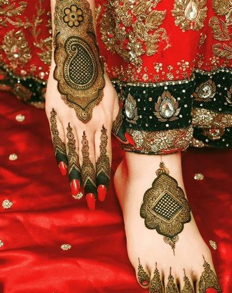 Mughlai Mehndi Designs (16)