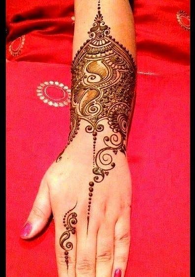 Mughlai Mehndi Designs (6)