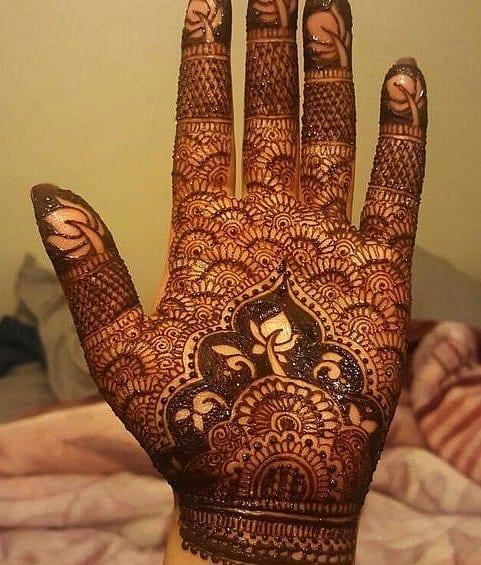 Mughlai Mehndi Designs (5)