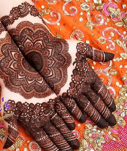 Mughlai Mehndi Designs (36)