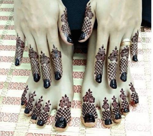Best Mehndi Designs for Fingers (16)