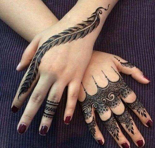 Best Mehndi Designs for Fingers (14)