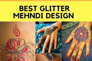 Best Glitter Mehndi Designs (14)
