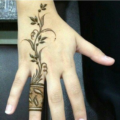 Best Mehndi Designs for Fingers (13)