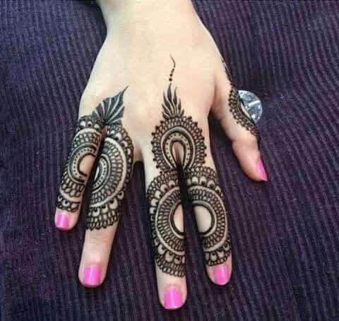 Best Mehndi Designs for Fingers (11)