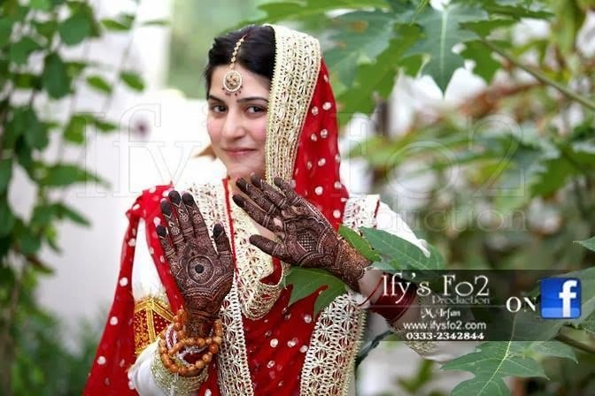 Celebrities Wedding Mehndi Designs (7)