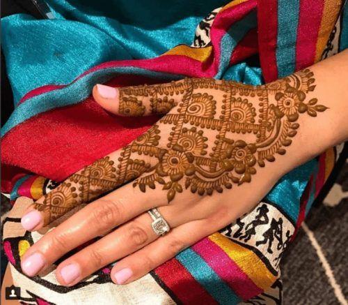 Best Mehndi Designs for Fingers (9)