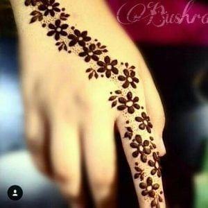Best Mehndi Designs for Fingers (8)