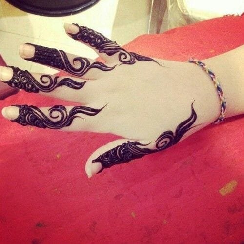 Best Mehndi Designs for Fingers (4)