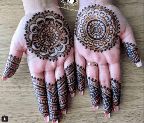 Best Mehndi Designs for Fingers (3)
