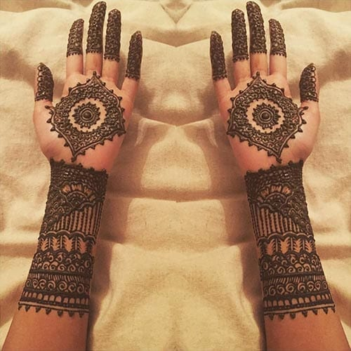 Mughlai Mehndi Designs (2)