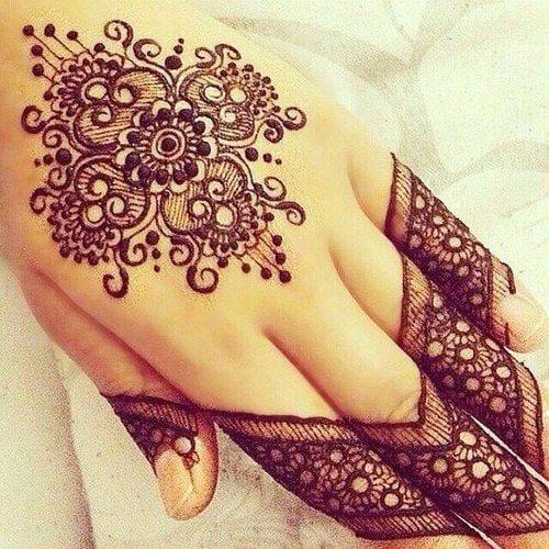 Best Mehndi Designs for Fingers (2)