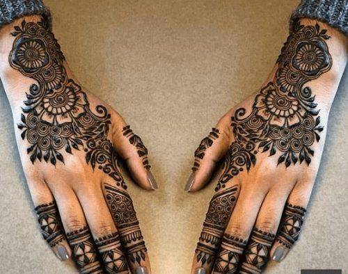 Types of Henna Art (11)