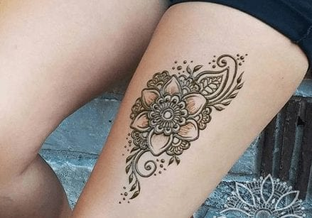 Types of Henna Art (2)