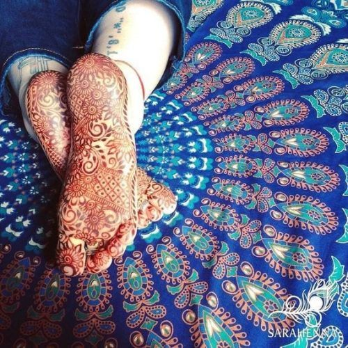 50 Colourful Henna And Mehndi Designs You Must Try