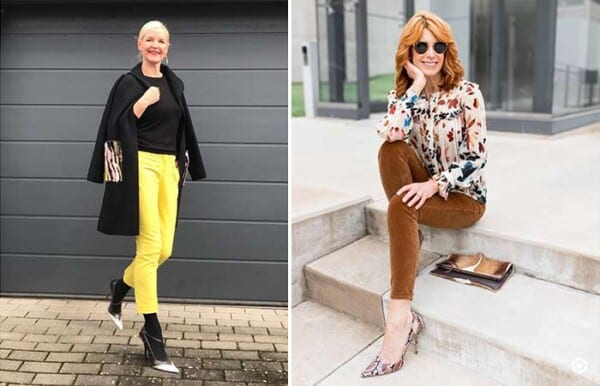 Pretty Summer Jeans Outfits for Women Over 50