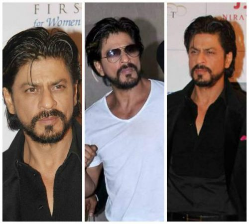 SRK French beard style