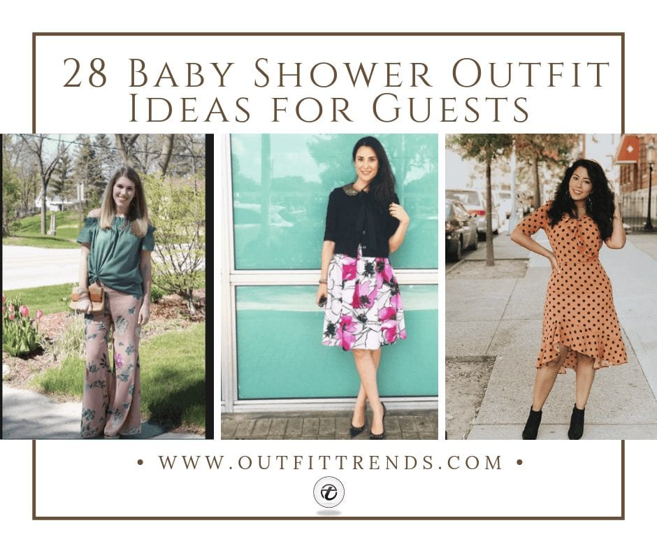 2cc4b3b7aeb 28 Baby Shower Outfit Ideas for Guests -Ideas What to Wear