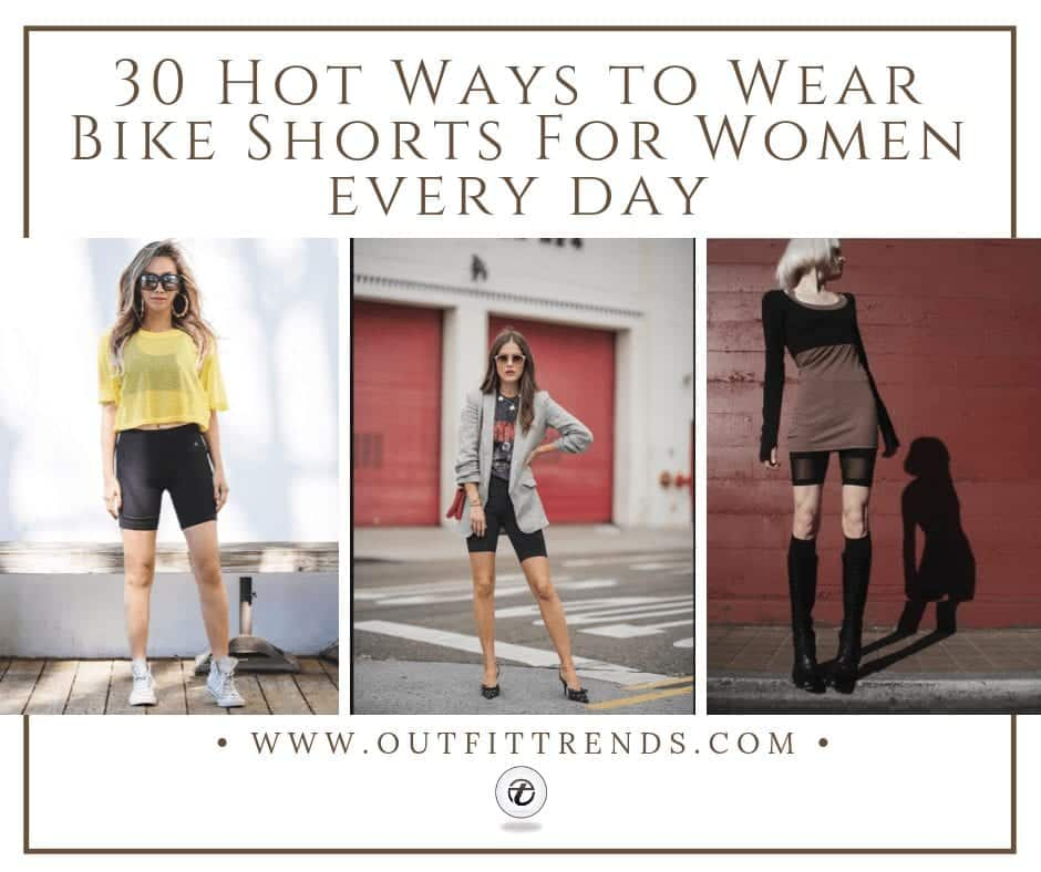 bike shorts Outfits