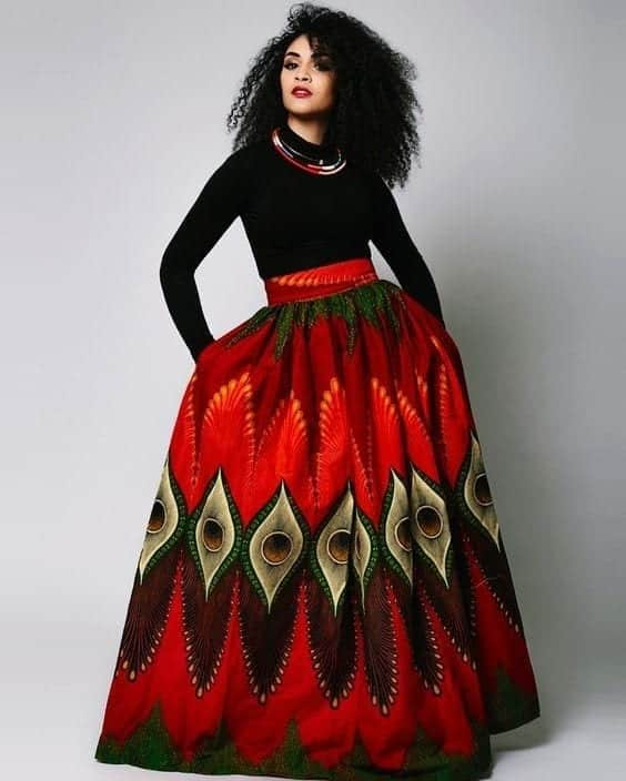 Trendy Business Looks With Kitenge Outfits (1)