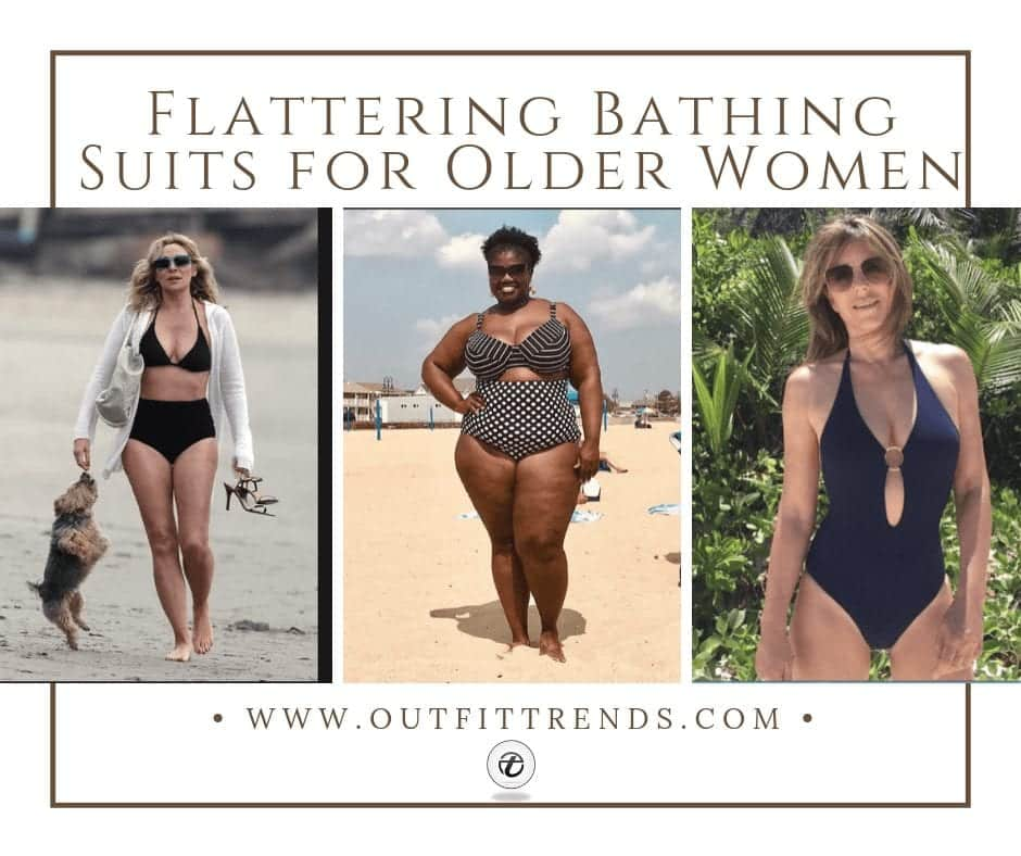 66a2c76ea2c Ideas On How to Find Flattering Bathing Suits for Older Women