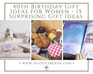 Gift Ideas for 40+ Women's Birthday