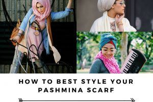 Modest Fashion Ideas with Pashmina Scarves (6)