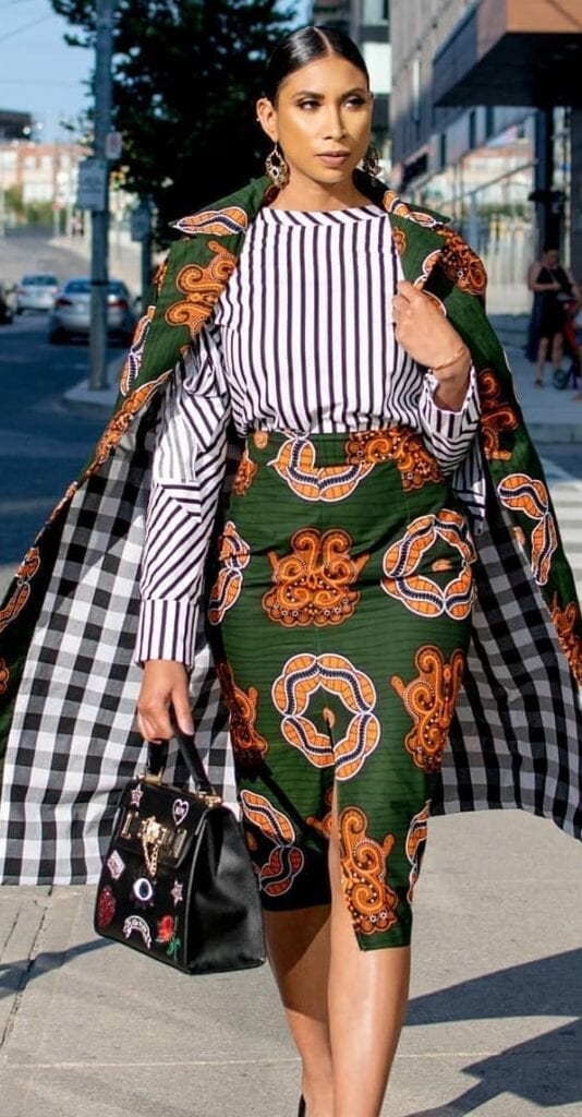 Trendy Business Looks With Kitenge Outfits (2)