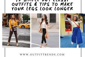 outfits to make legs look longer
