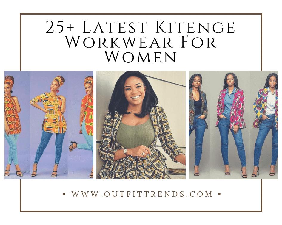 kitenge designs for work