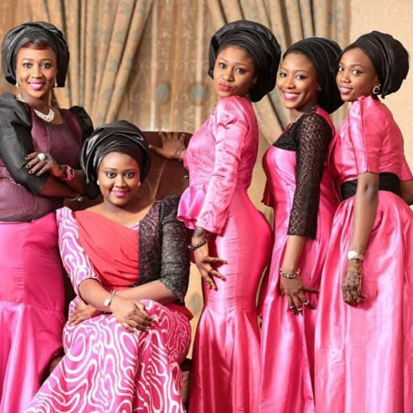 African Bridesmaid Goals