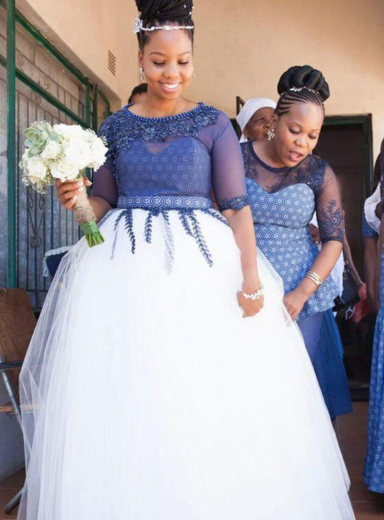 08c7ab4946 27 Latest Plus Size African Wedding Dresses Trending