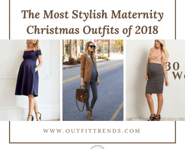 Stylish Maternity Christmas Outfits (11)