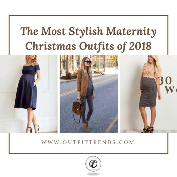 Stylish Maternity Christmas Outfits (11)